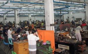 proces produkcyjny klepsydry