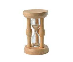 zegar piaskowy drewniany